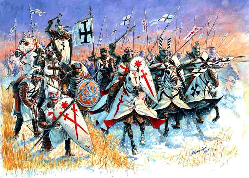 cruzadas edad media historia del mundo