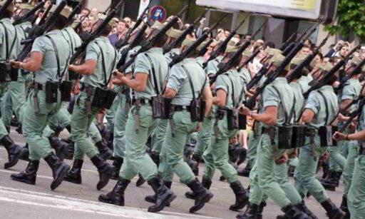 Legion Española desfile actual