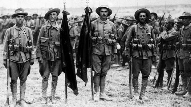 legion española guerra del rif en africa