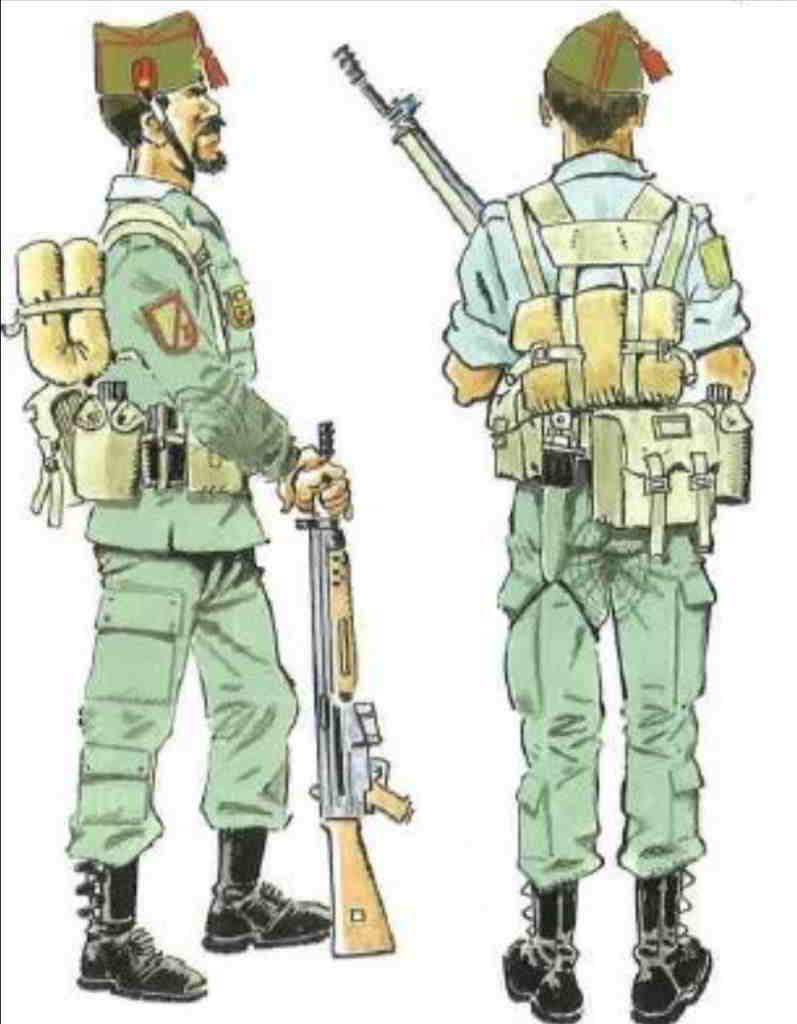 Uniforme de la Legión Española