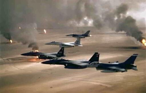 resumen primera guerra del golfo persico