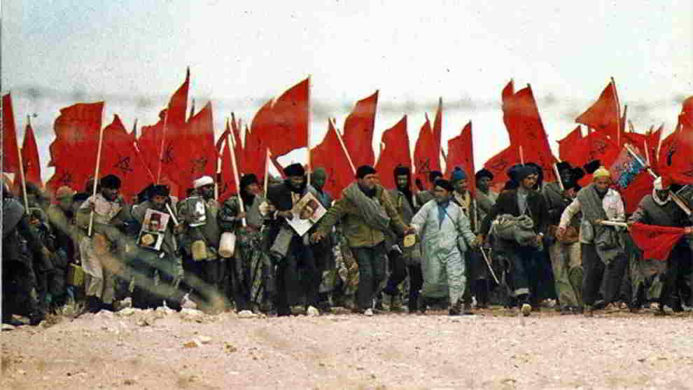 Marcha Verde de Marruecos sobre el Sáhara Occidental