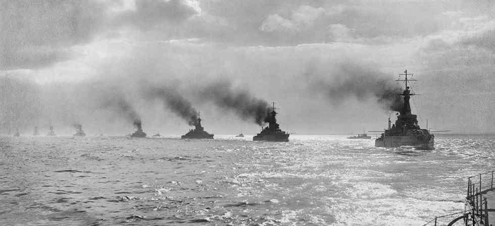 batalla de jutlandia primera guerra mundial